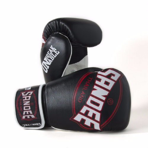 Sandee Cool-Tech Boxing Gloves Black/Red